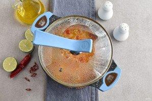 Суп из коктейля морепродуктов - фото шаг 8