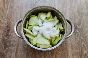 Варенье из черники и яблок - фото шаг 3