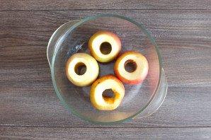 Яблоки запеченные в духовке со сметаной - фото шаг 2