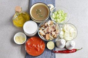 Суп из коктейля морепродуктов - фото шаг 1