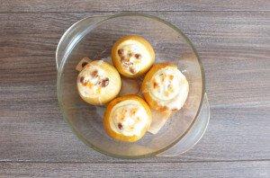 Яблоки запеченные в духовке со сметаной - фото шаг 5