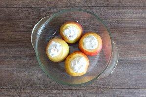Яблоки запеченные в духовке со сметаной - фото шаг 4
