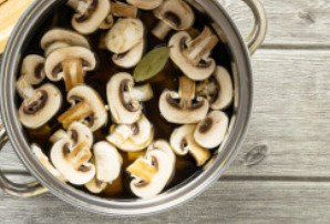 "Грибной суп с ""ушками"" - фото шаг 11"