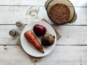 Гречка со свеклой и морковью - фото шаг 1