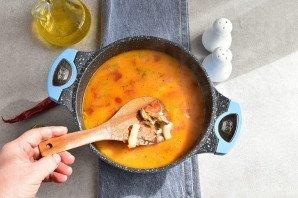Суп из коктейля морепродуктов - фото шаг 7
