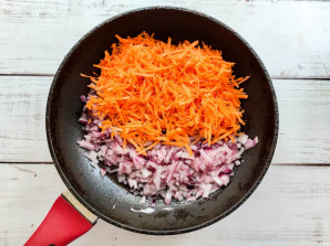 Гречка со свеклой и морковью - фото шаг 3