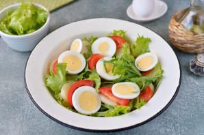 Салат с анчоусами и рукколой - фото шаг 5