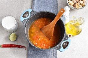 Суп из коктейля морепродуктов - фото шаг 5