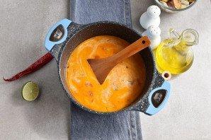Суп из коктейля морепродуктов - фото шаг 6