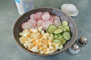 Салат из брокколи и редиса - фото шаг 4