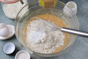 Маффины с арахисовой пастой - фото шаг 5