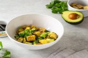 Закуска из тофу с авокадо - фото шаг 8