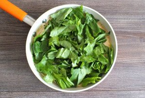 Горбуша со шпинатом и сливками - фото шаг 8