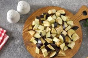Баклажаны в томатно-молочном соусе - фото шаг 3